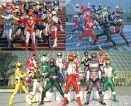 20433-super sentai rider metal hero by riderb0y