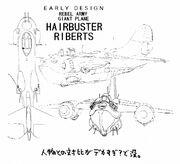 Hairbuster Riberts Early Artwork