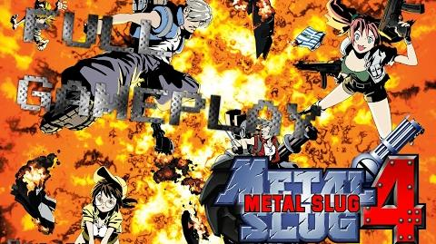 【PS2】メタルスラッグ4 - FULL GAMEPLAY
