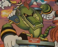 Vector man