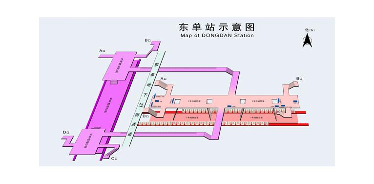 Dongdan BJ map