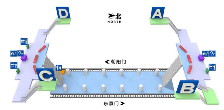Dongsi Shitiao BJ map