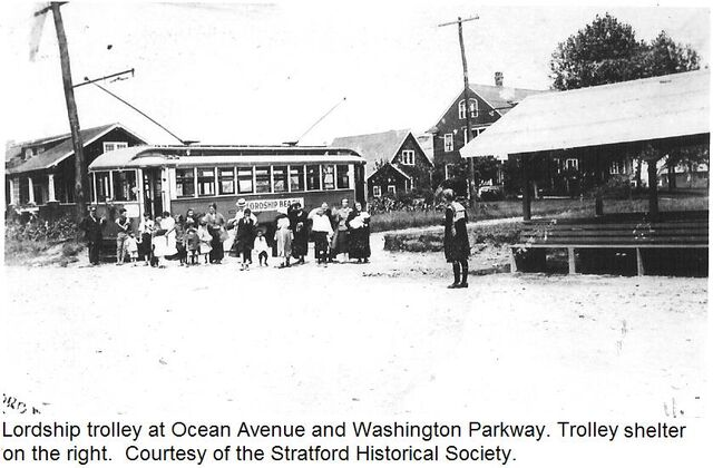 File:LORDSHIP TROLLEY - STRATFORD CT (AT OCEAN AVE. and WASHINGTON PKWY.) BTW. 1916-1920.jpg