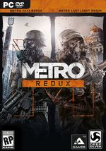 Metro Redux box art