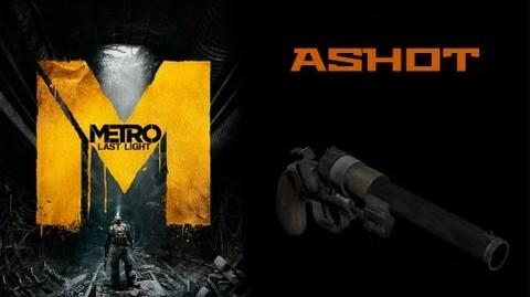 Metro Last Light Weapons (Ashot shotgun)