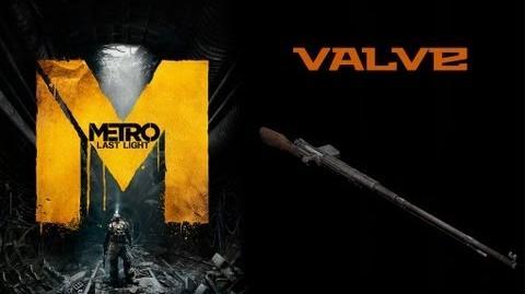 Metro Last Light Weapons (Valve sniper rifle)