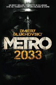 Metro 2033 - włoska okładka