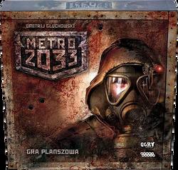 Gra planszowa Metro 2033