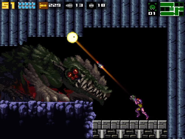 File:AM2R - Queen Metroid.png