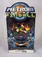 Metroid Prime Pinball standee