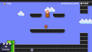Samus amiibo Super Mario Maker