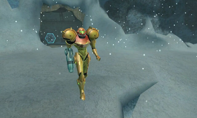 File:Phendrana Shorelines Drifts Samus enters varia suit dolphin hd.jpg