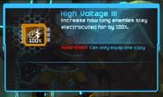 High Voltage III MOD