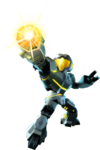 Metroid Prime Federation Force - Yellow Fed Marine