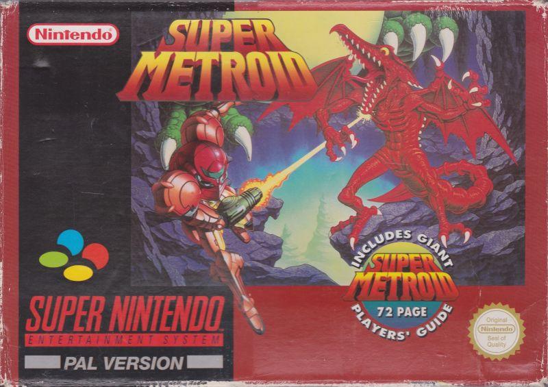 File:Super Metroid PAL boxart.jpg