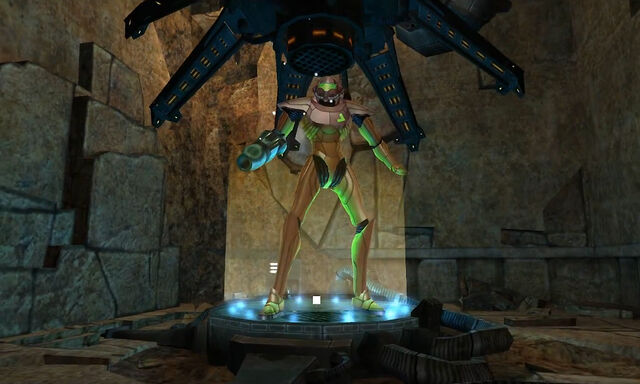 File:Save Station 1 Chozo Ruins Samus Power Suit Dolphin HD.jpg