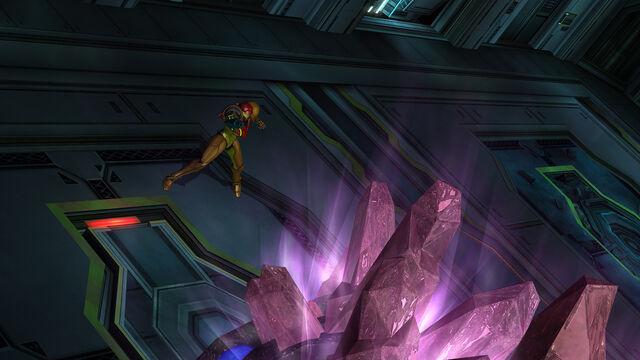 Файл:Queen Metroid crystals Room MW Bioweapon Research Centre HD.jpg