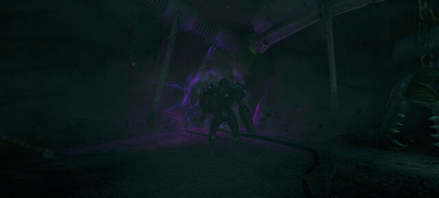 File:Dark Samus about to enter portal Hive chamber b.jpg