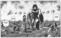 Samus, Mok, Kuritsu pose