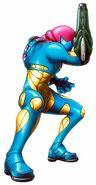 Fusion suit Metroid Fusion picture