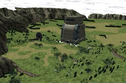 Biosphere Test Area Model