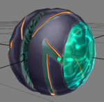Beta Phazon Suit Morph Ball
