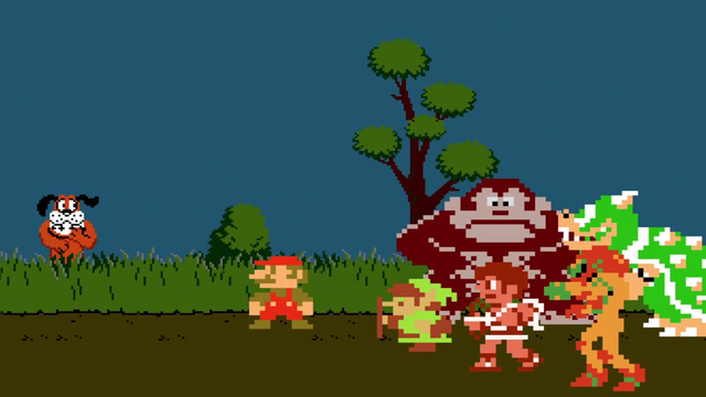 File:Confronting Duck Hunt Dog (NES).png