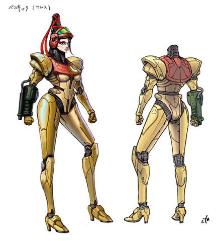 File:Bayonetta 2 Samus suit concept (final).png