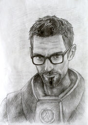 Gordon freeman by colouroflife-d51dk3s