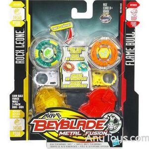 Beyblade metal fusion lion gale force wall 2-pack