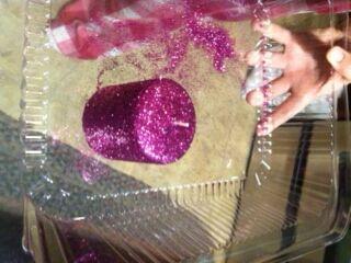 File:Pink glitter candle.jpg
