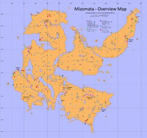 Miasmata Map (1.3 - 5Jan2013)
