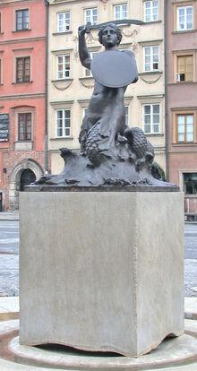 Syrenka na Rynku Starego Miasta.jpg