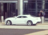 White 2013 Production Camaro