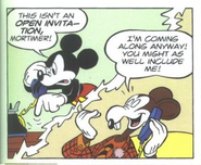 Mickey and Mortimer