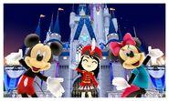 Mickey Minnie and Mii Photos