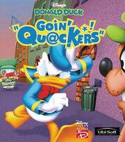 Donald goin quackers artwork
