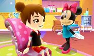 Mii and Minnie Mouse - DMW2