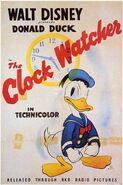 Clock watcher poster