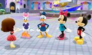 Mii Meets Mickey and Friends - DMW2