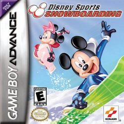 Disney sports snowboarding gba