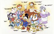Ducktales cast