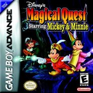 Magical quest gba cover