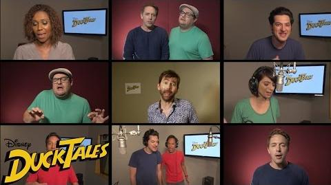 """All-New """"DuckTales"""" Cast Sings Original Theme Song Disney XD-0"""