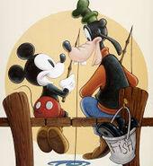 Mickey and Goofy 2-2