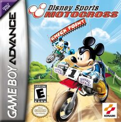 Disney sports motocross cover