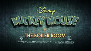 The Boiler Room Title Card