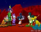 Martain Mickey and Pluto 2
