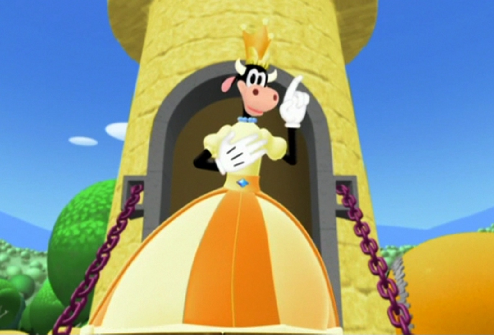 Clarabelle cow gallery mickeymouseclubhouse wiki for 7 a la maison episodes
