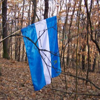 The Lurkish flag in the Lurk Hills area.